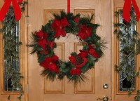 Free photo: Christmas Wreath, Door Decoration - Free Image ...