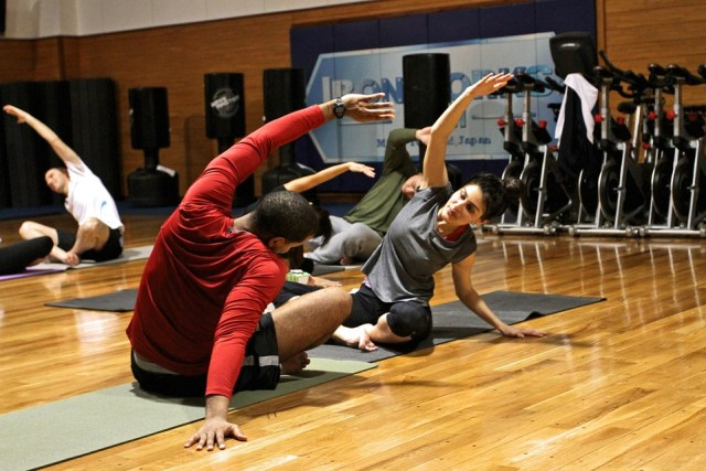 Women benefit from personal training