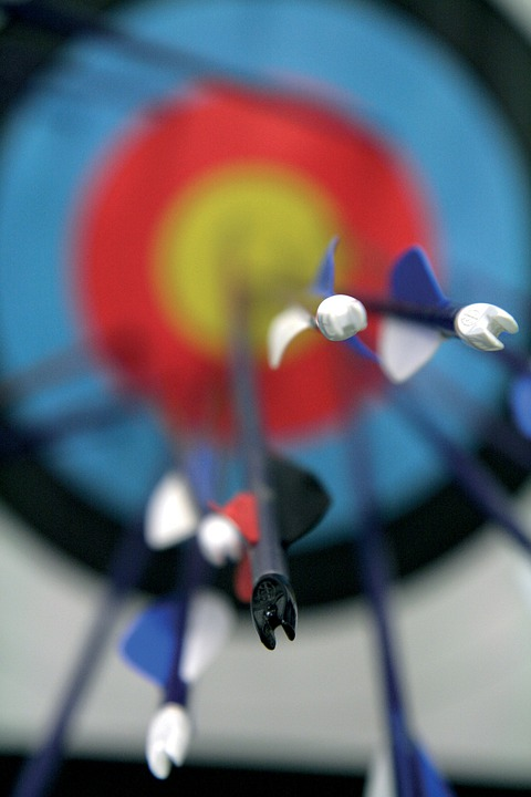 Blue Animated Wallpaper Free Photo Target Arrow Sport Hits Taken Free Image
