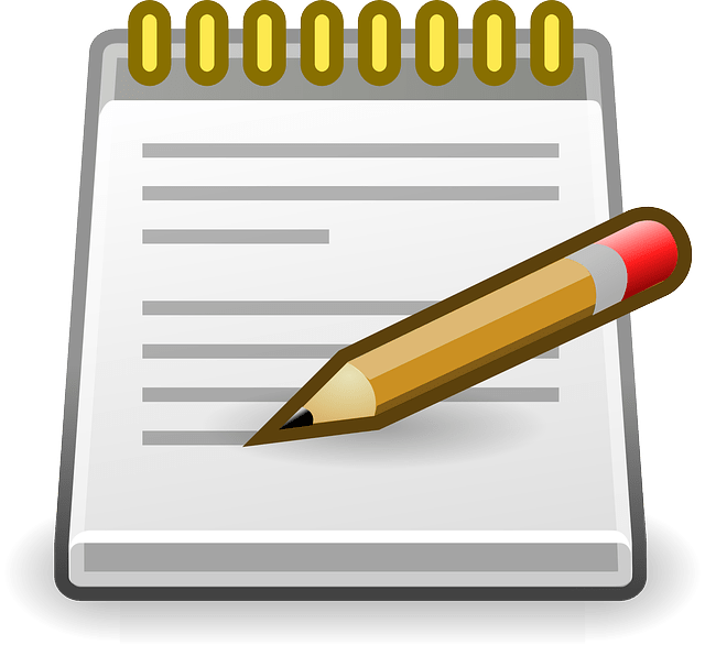 Notepad Editor Pencil  Free vector graphic on Pixabay