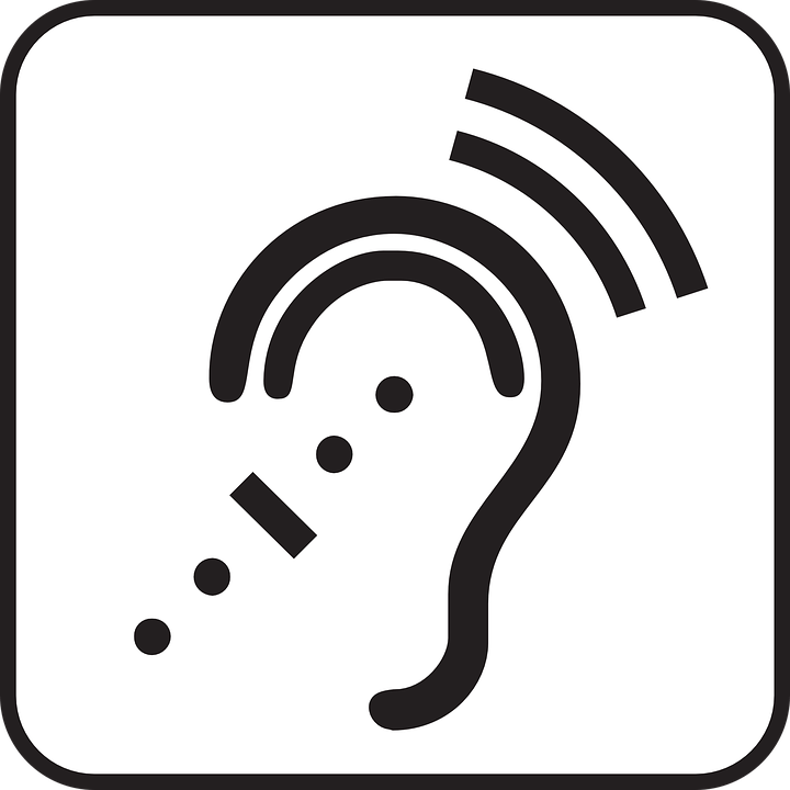 Hearing Audio Listening · Free vector graphic on Pixabay