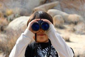 Binoculars, Child, Magnification