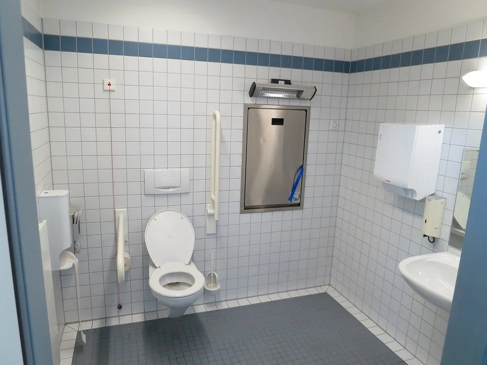 Free photo Wc Barrier Free Toilet Disabled  Free Image