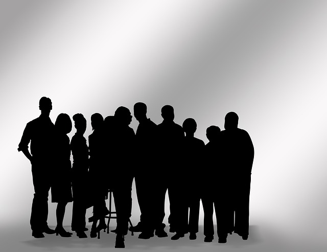 Personen Gruppe Silhouetten  Kostenloses Bild auf Pixabay