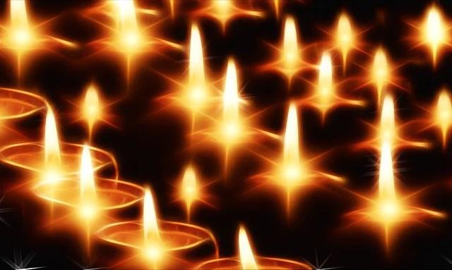 Free Illustration Candles Light Lights Evening Free