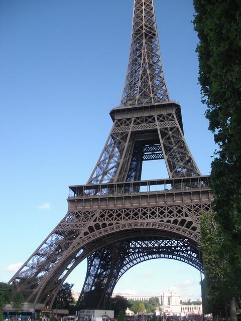 Menara Eiffel Paris Prancis  Foto gratis di Pixabay