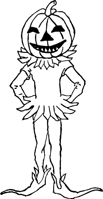 Pumpkin Boy Costume · Free vector graphic on Pixabay