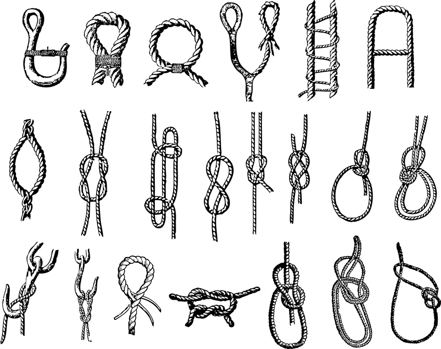 Knot Seizing Hitch · Free vector graphic on Pixabay