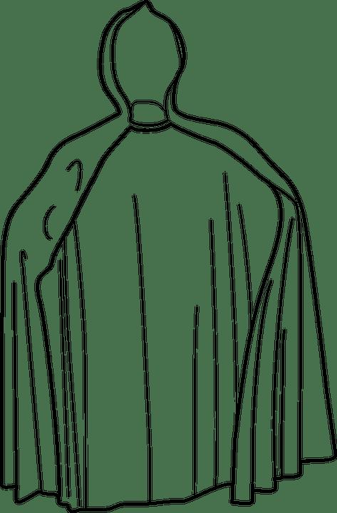 Free Vector Graphic Coat Clothing Cape Cloak Mantle