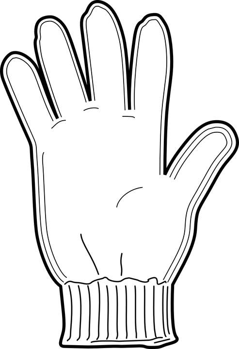 Glove Warm Wool · Free vector graphic on Pixabay