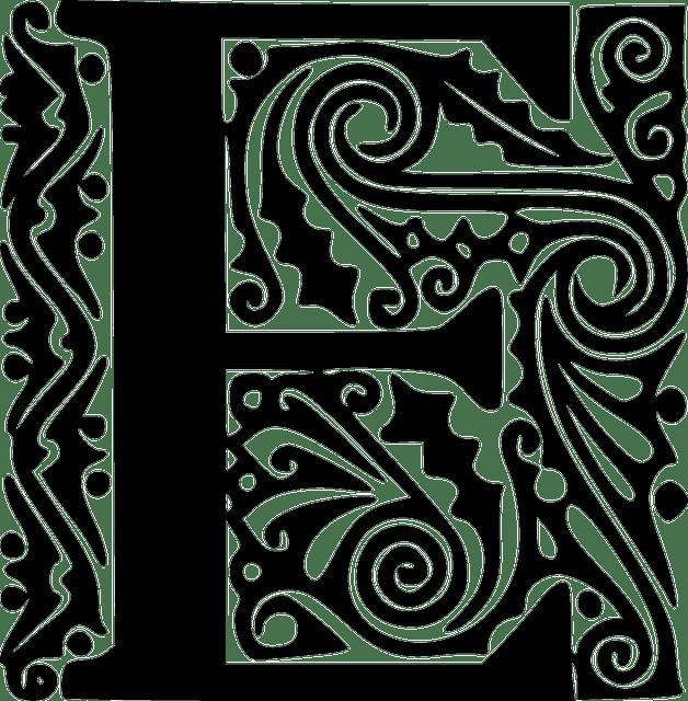 Alphabet Kalligraphie Abc  Kostenlose Vektorgrafik auf