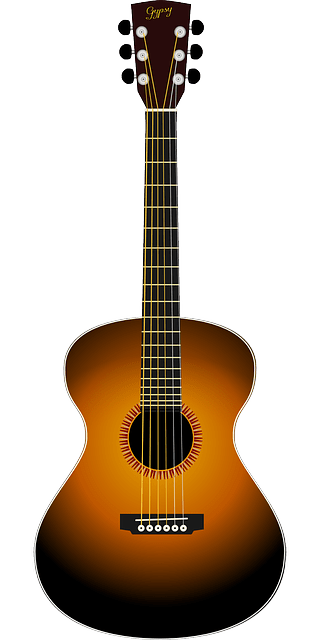 Cartoon Boy And Girl Love Wallpaper Acoustic Guitar 183 Free Vector Graphic On Pixabay