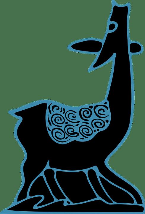 Vector Batik Png : vector, batik, Antelope, Animal, Batik, Vector, Graphic, Pixabay