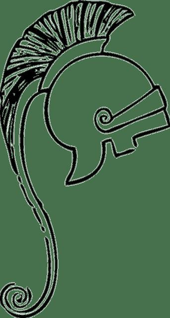 Helmet Armor Fighter · Free vector graphic on Pixabay