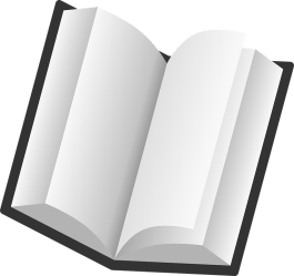 reading pages plain open empty vector pixabay graphic language