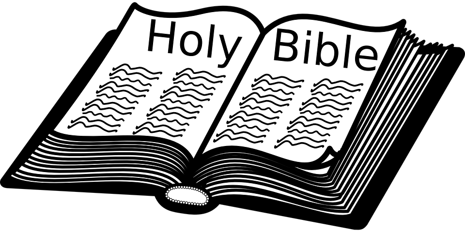 Bible Book Christianity · Free vector graphic on Pixabay