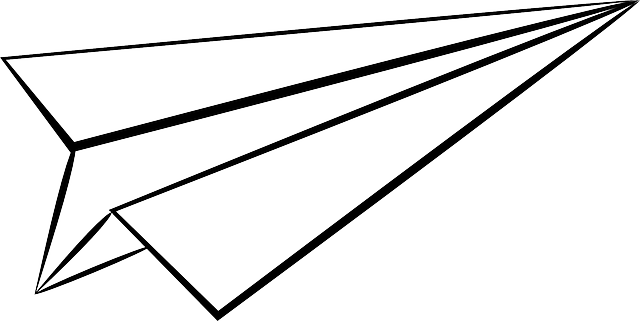 Paper Plane Origami · Free vector graphic on Pixabay