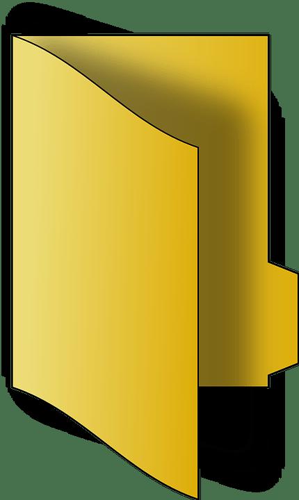File Folder Berkas  Gambar vektor gratis di Pixabay