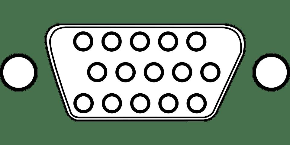 连接器 Vga 销 · 免费矢量图形Pixabay