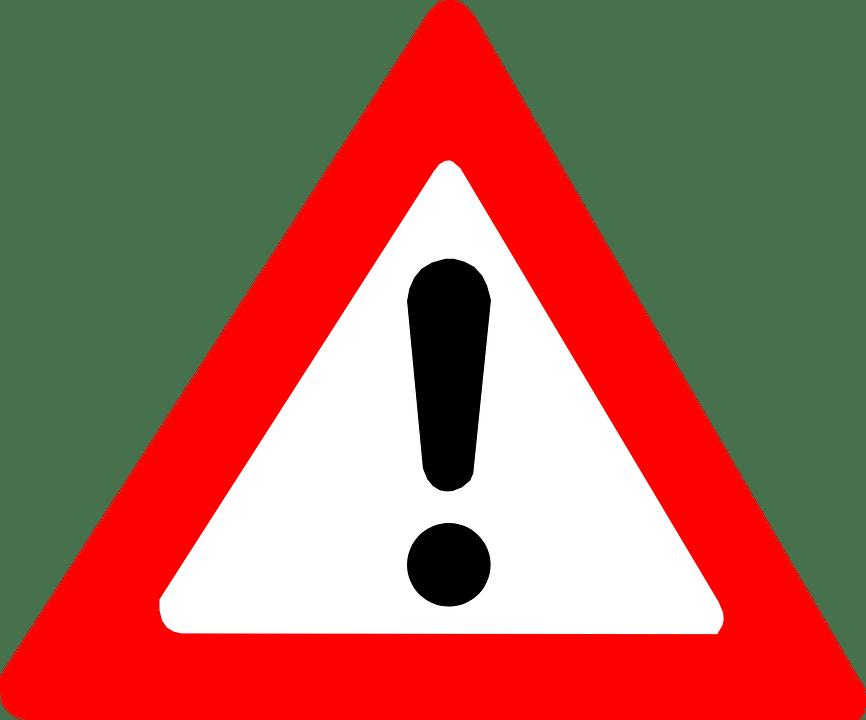 Attention Mise En Garde Point · Images vectorielles gratuites sur Pixabay