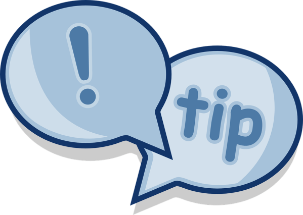 dialog tip advice free vector