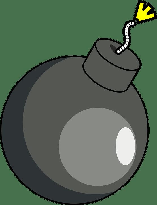 free vector graphic bomb grenade