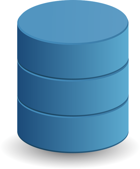 database data storage cylinder