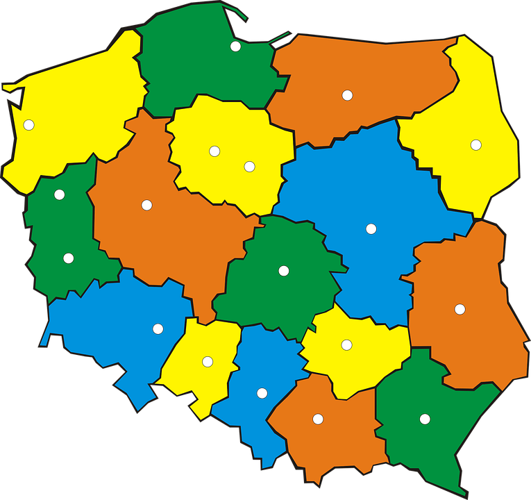 Country Girl Wallpaper Poland Administration Map 183 Free Vector Graphic On Pixabay