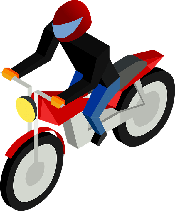 Animasi Motor Png : animasi, motor, Motor, Vehicle, Motorcycle, Vector, Graphic, Pixabay