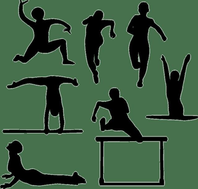 Yoga Athletics Athletic Sports · Free vector graphic on