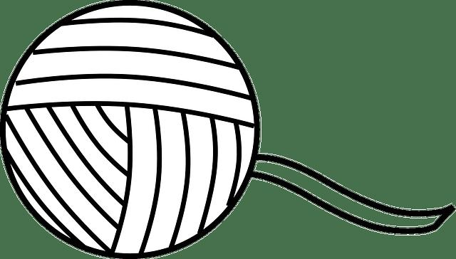 Kostenlose Vektorgrafik: Garn, Thread, Schnur, Kugel