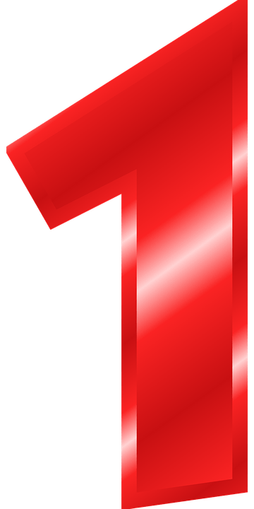 Gambar Nomor 1 : gambar, nomor, Nomor, Angka, Gambar, Vektor, Gratis, Pixabay