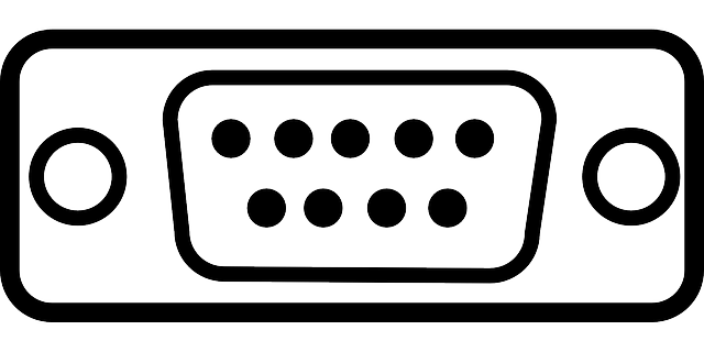 Free vector graphic: Port, Serial Port, Plug, Connector