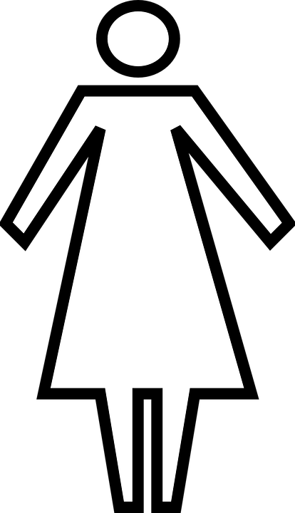 Free vector graphic: Woman, Restroom, Toilet, Female