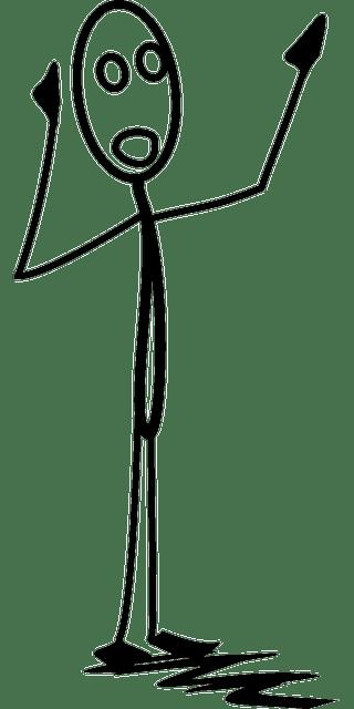 Free vector graphic: Calling, Stickman, Stick Figure