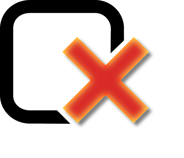 Checkbox Unchecked Cross  Free vector graphic on Pixabay