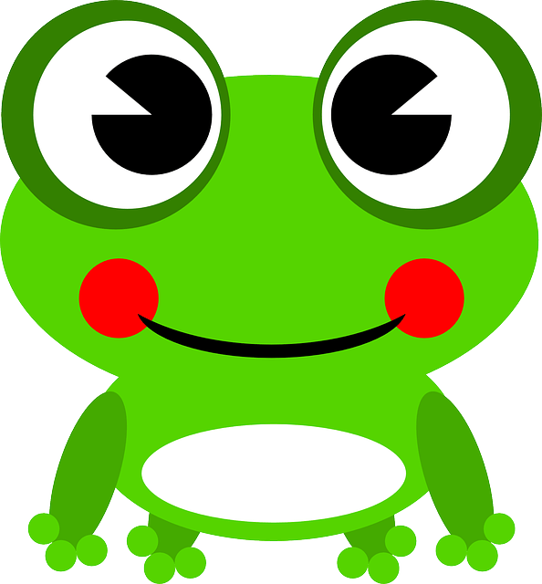 frog amphibian animal free vector