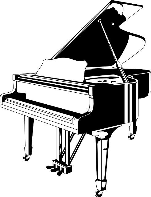 Grand Piano Music · Free vector graphic on Pixabay