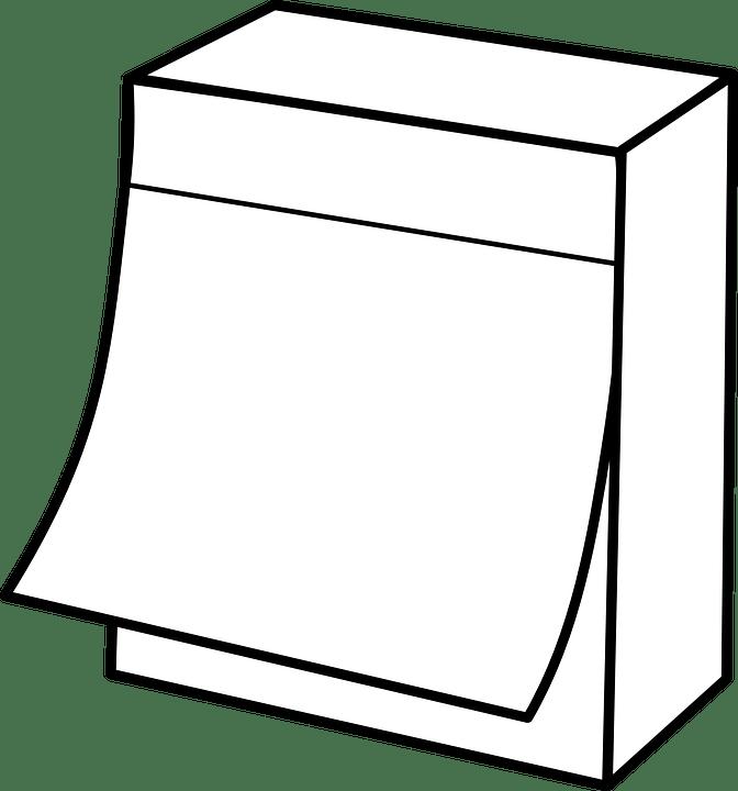 Image vectorielle gratuite: Calendrier, Pense Bête, Post