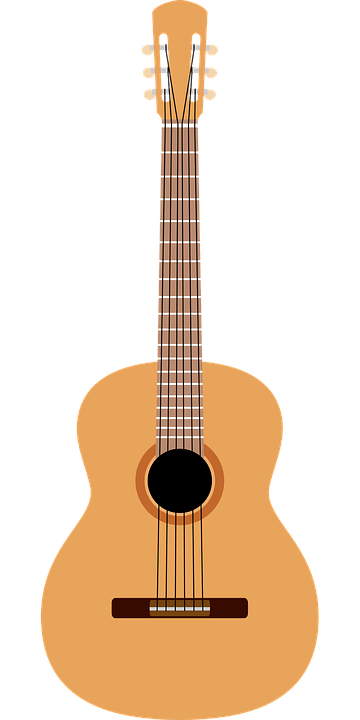 Acoustic Guitar Music  Free vector graphic on Pixabay