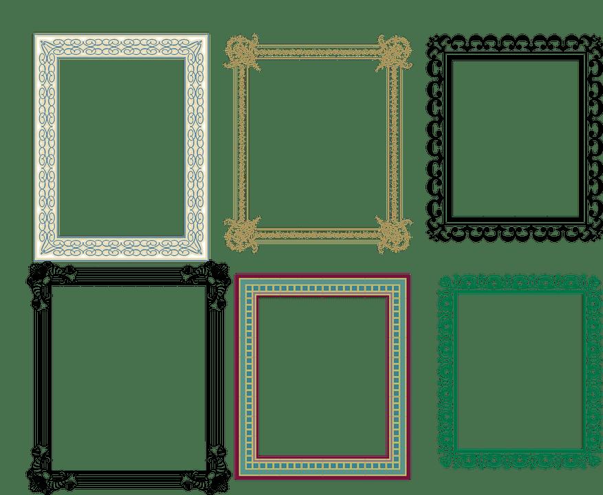 Artistik ereve  Pixabayda cretsiz vektr grafik