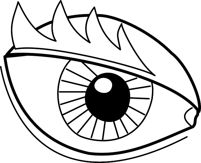 Free vector graphic: Vision, Eyebrows, Eye, See, Iris