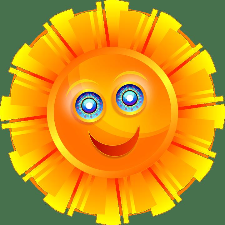 Sinar Matahari Bersinar  Gambar vektor gratis di Pixabay