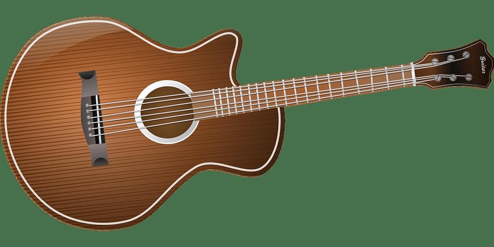 Kostenlose Vektorgrafik Akustische Gitarre Gitarre