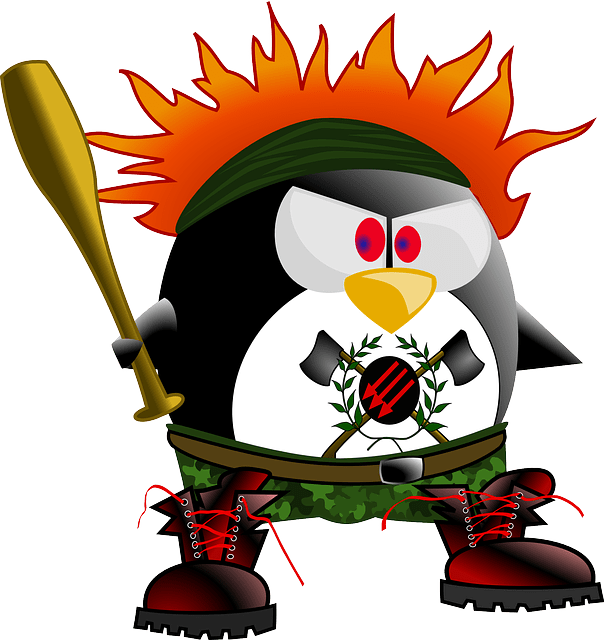 Boots Girl Wallpaper Anarchy Punk Penguin 183 Free Vector Graphic On Pixabay