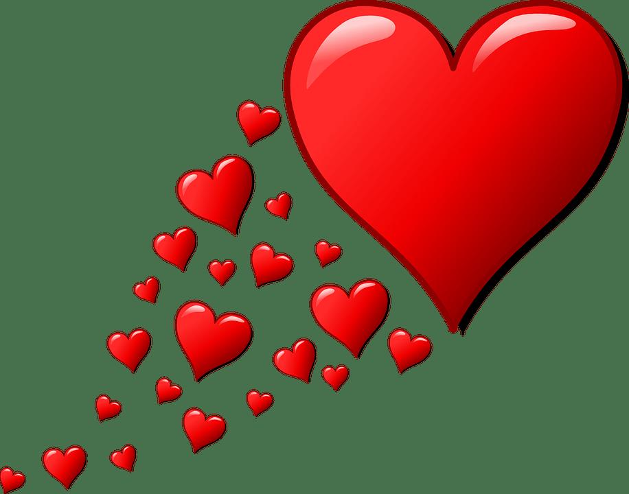 hearts trail valentine free