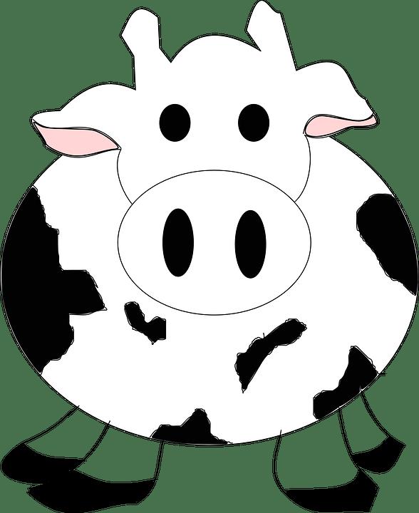 Sapi Kartun Png : kartun, Cattle, Vector, Graphic, Pixabay
