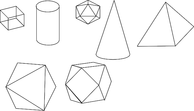 Geometry Solid Shapes Solids · Free vector graphic on Pixabay