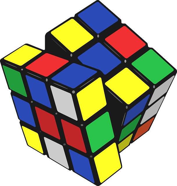 Free Vector Graphic Rubik's Cube, Cube, Puzzle, Colors