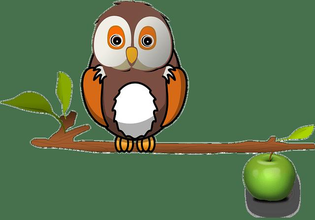 Fall Bird Feeder Wallpaper Free Vector Graphic Apple Branch Owl Tree Free Image